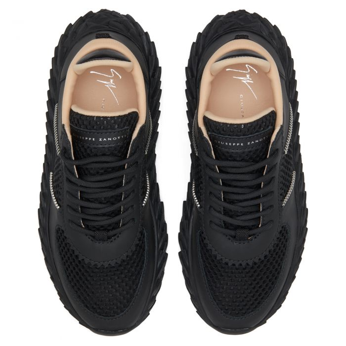 URCHIN - Black - Low top sneakers