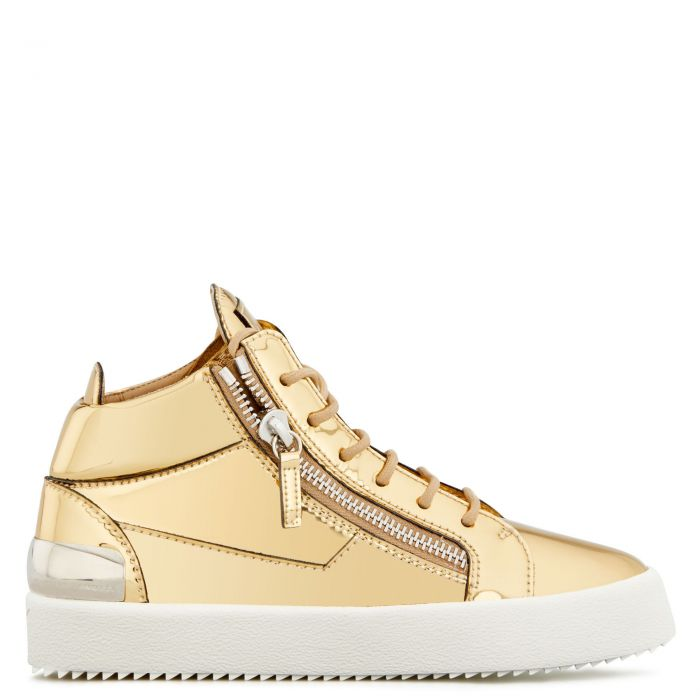 KRISS - Gold - Mid top sneakers