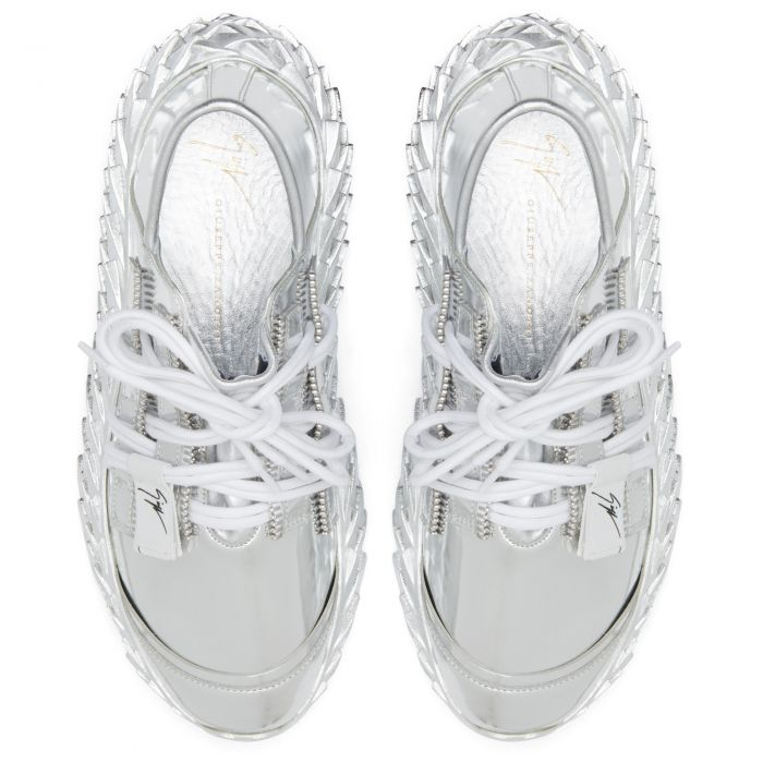 URCHIN - Argent - Sneakers basses