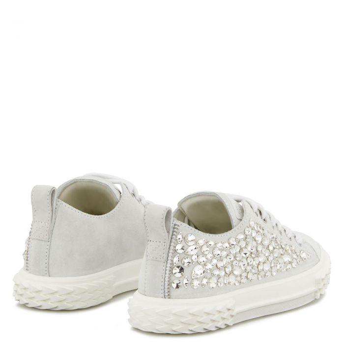 BLABBER - Blanc - Sneakers basses