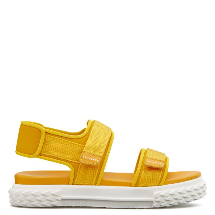 BLABBER GUMMY - Yellow - Sandals