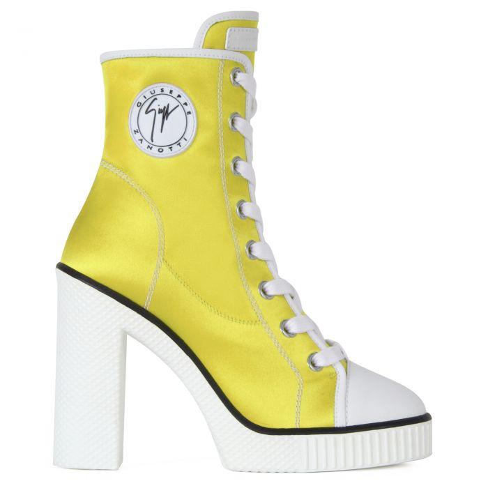 NIDIR - Yellow - High top sneakers