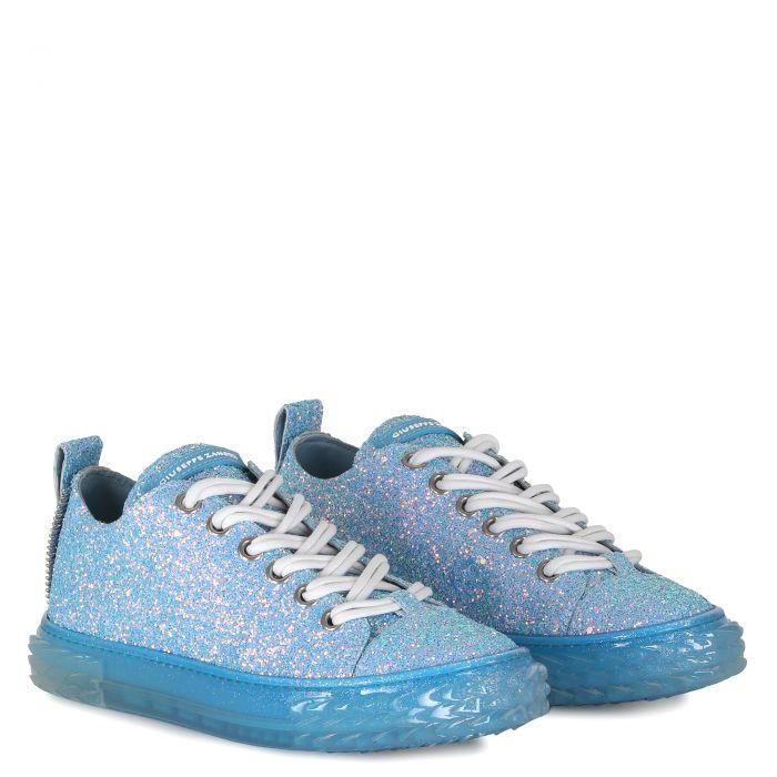 BLABBER - Bleu - Sneakers basses