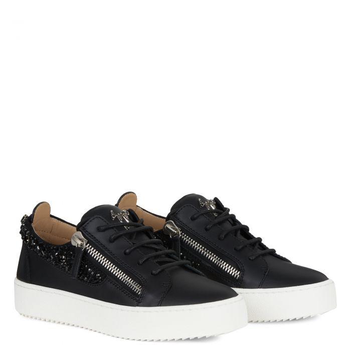 GAIL - Noir - Sneakers basses