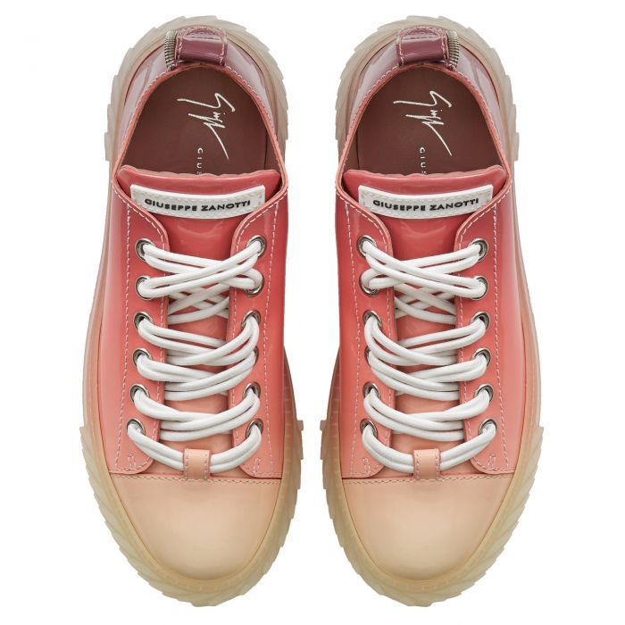 BLABBER - Rouge - Sneakers basses