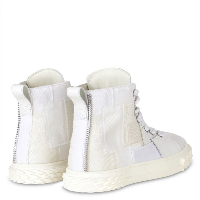 BLABBER CRAFT - White - Mid top sneakers