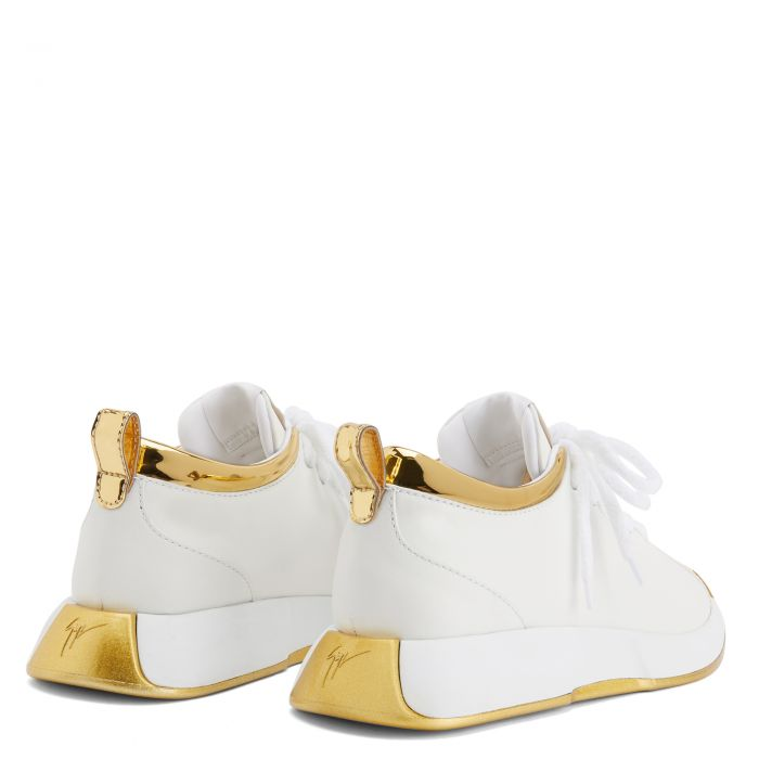GIUSEPPE ZANOTTI FEROX - Blanc - Sneakers basses