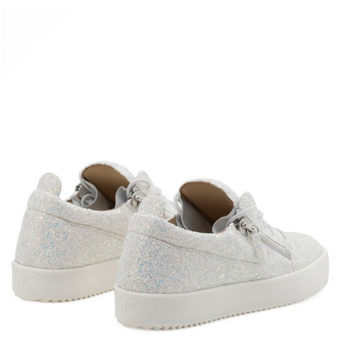 CHERYL GLITTER - White - Low top sneakers