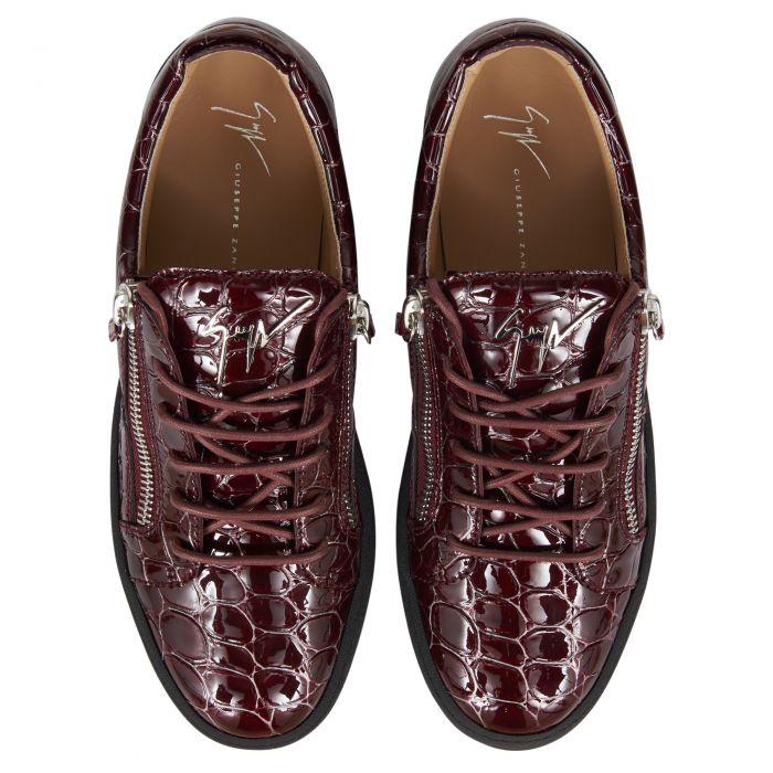 FRANKIE - Bordeaux - Low top sneakers