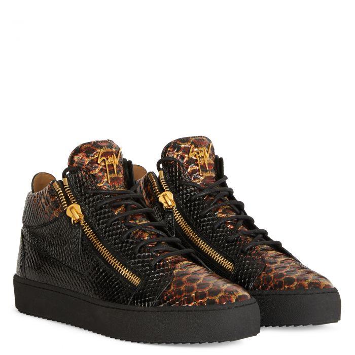 KRISS - Marron - Sneakers basses