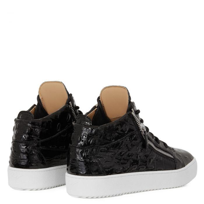 KRISS - Noir - Sneakers montante