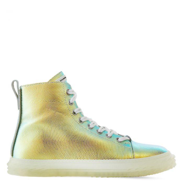 BLABBER - Argent - Sneakers montante