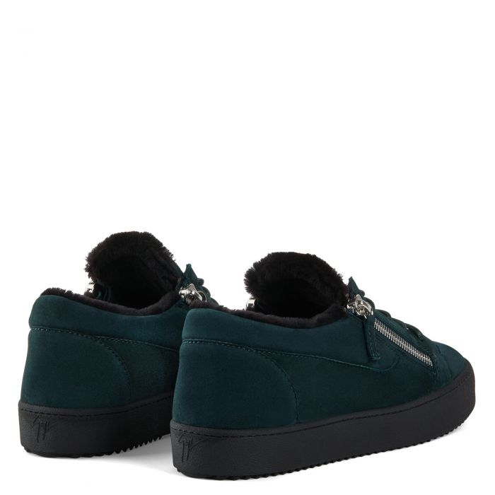 FRANKIE WINTER - Green - Low top sneakers