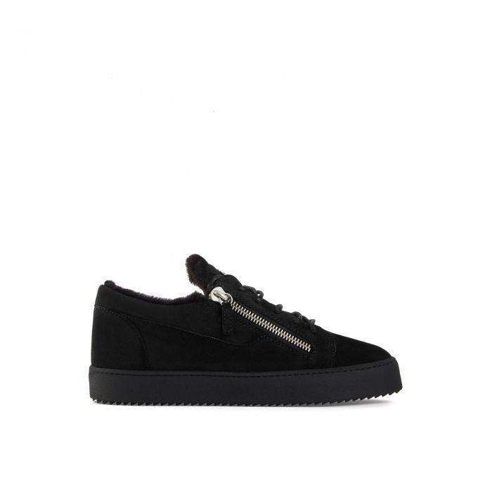 FRANKIE WINTER - Black - Low top sneakers