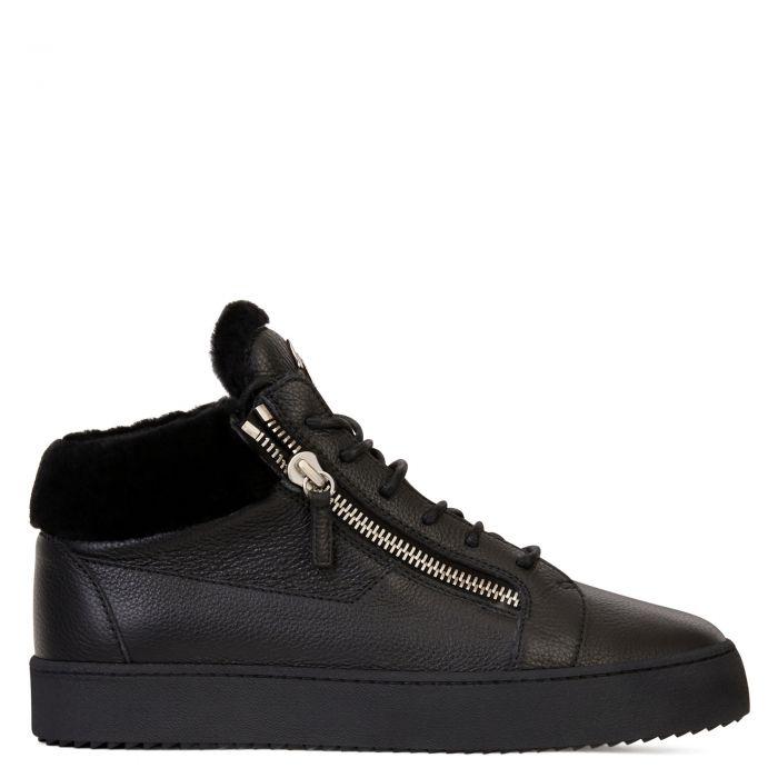 KRISS WINTER - Black - Mid top sneakers