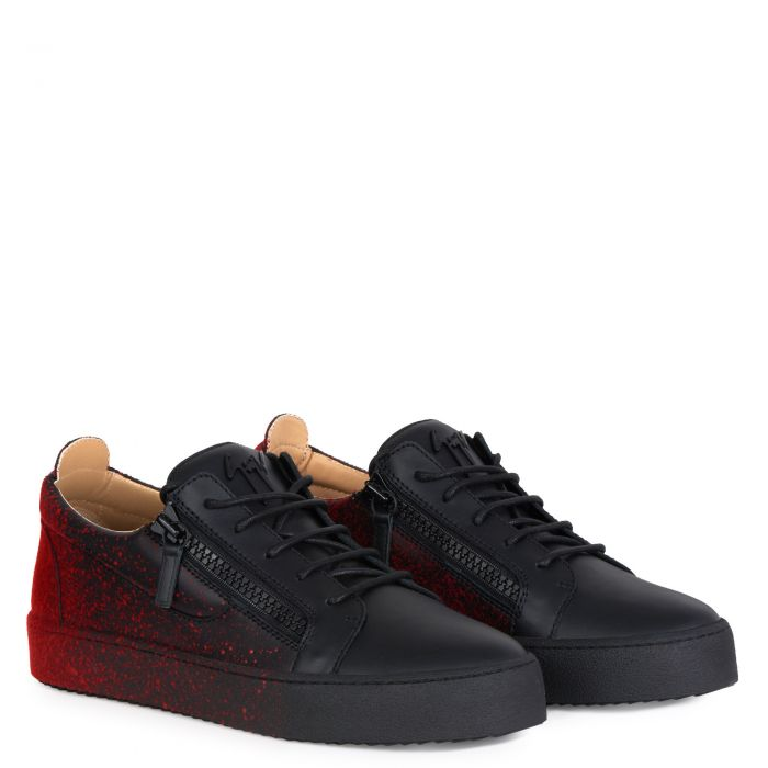 FRANKIE SPRAY - Noir - Sneakers basses