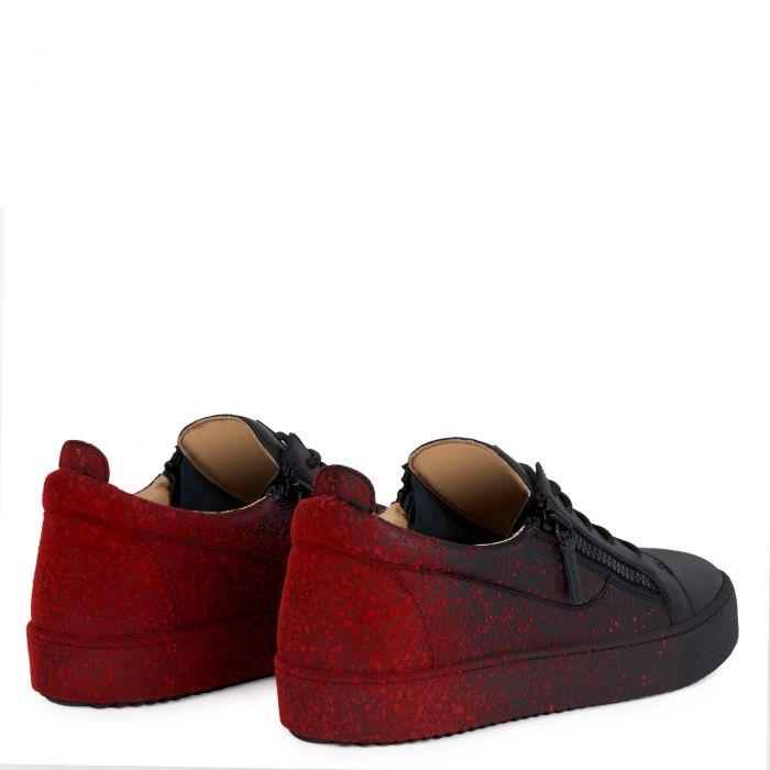 FRANKIE SPRAY - Noir - Sneakers basses