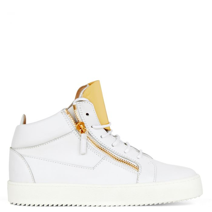 KRISS STEEL - White - Mid top sneakers