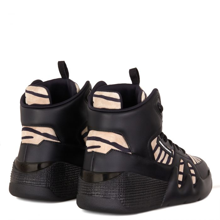 TALON - Black and white - High top sneakers