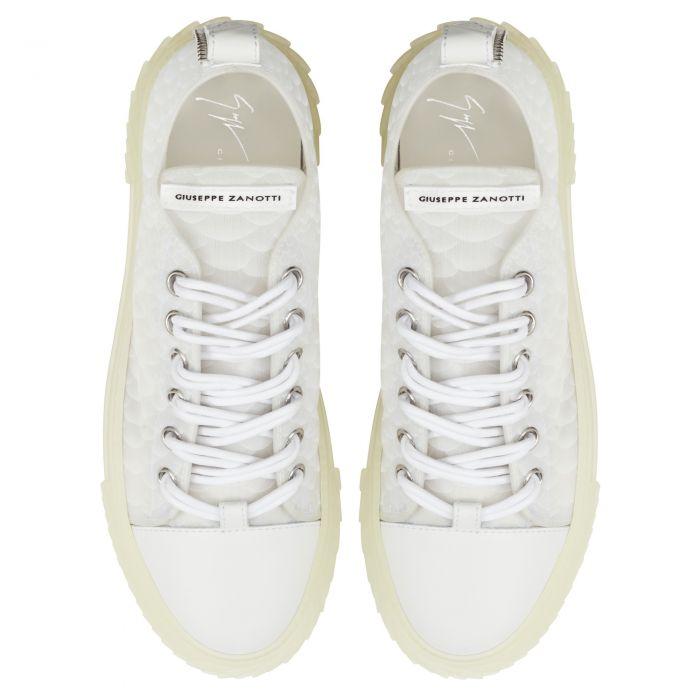 BLABBER JELLYFISH - Blanc - Sneakers basses