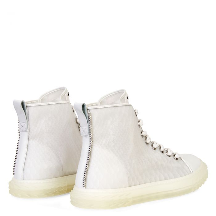 BLABBER JELLYFISH - White - Mid top sneakers
