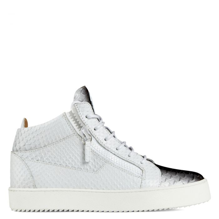 KRISS - Black and white - Sneakers montante