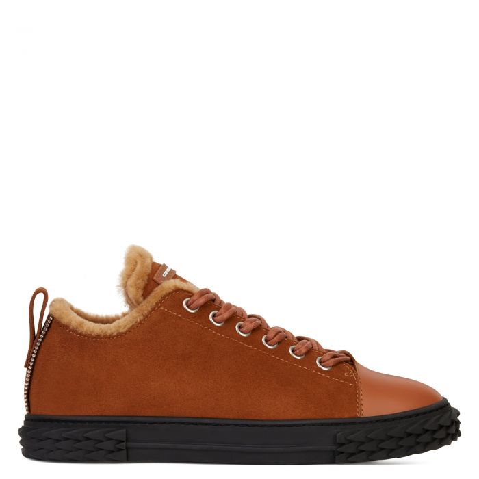 BLABBER - Brown - Low top sneakers