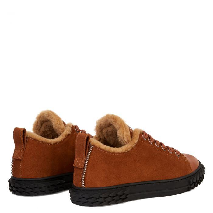 BLABBER - Brown - Low top sneakers