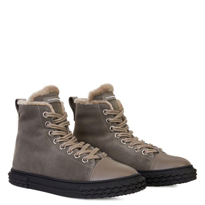 BLABBER - Gris - Sneakers montante