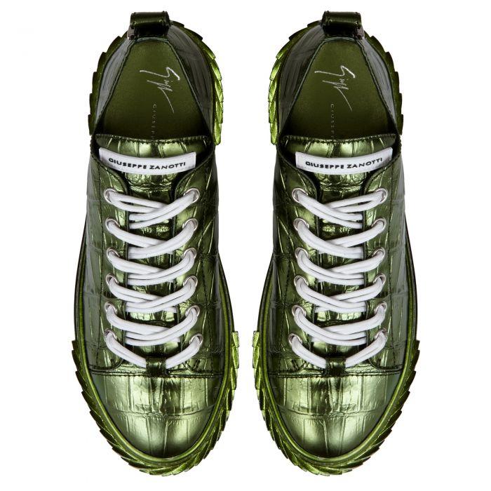 BLABBER - Vert - Sneakers basses