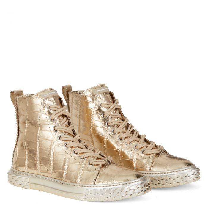 BLABBER - Or - Sneakers montante