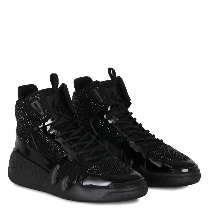 TALON - Black - Mid top sneakers