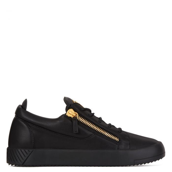 LR-07 FRANKIE - Black - Low-top sneakers