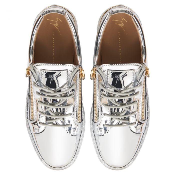 FRANKIE STEEL - Silver - Low top sneakers