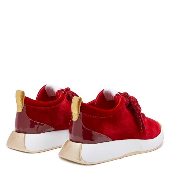 FEROX - Red - Low top sneakers