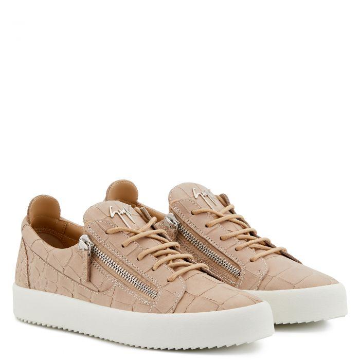 FRANKIE CROCO - Pink - Low top sneakers