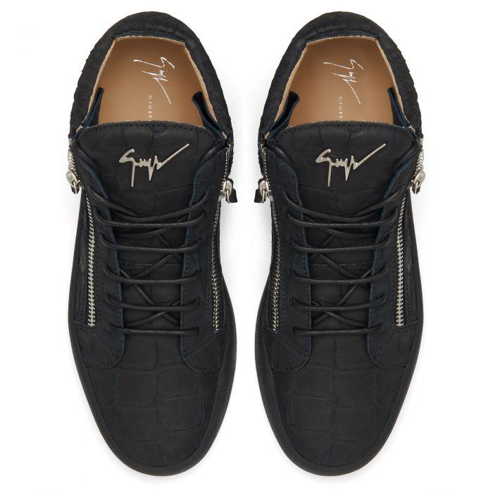 KRISS CROCO - Mid top sneakers
