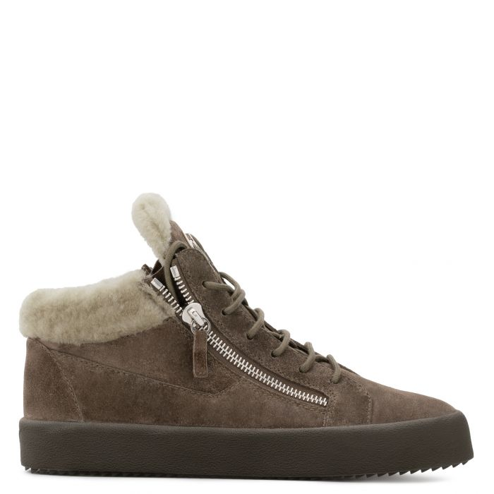 COLE - Marron - Sneakers montante