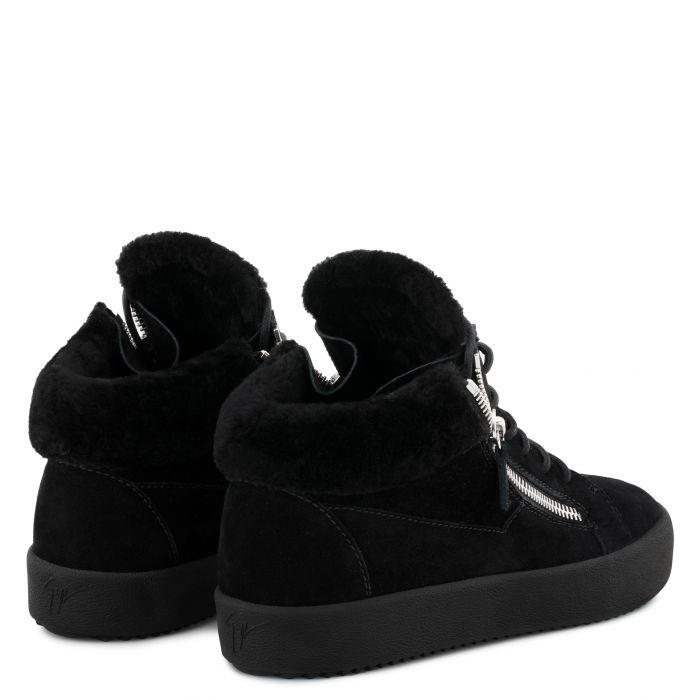 COLE - Black - Mid top sneakers