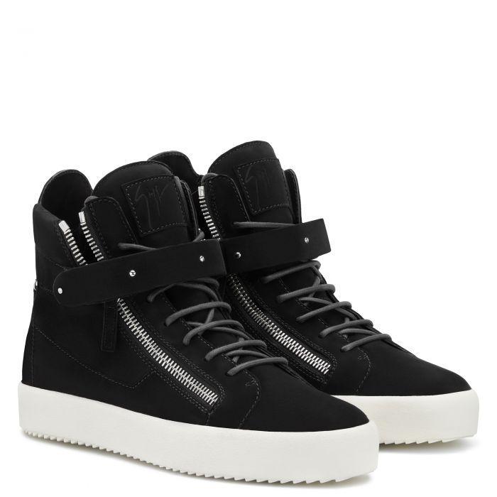 DENNY VELVET - High top sneakers