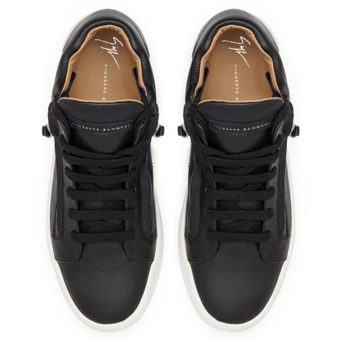 JUSTY - Black - Mid top sneakers