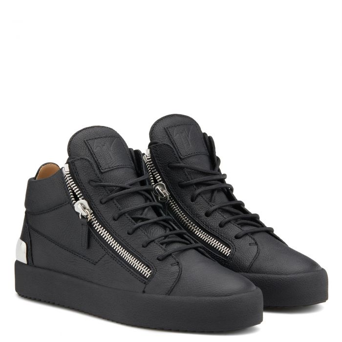 KRISS STEEL - Black - Mid top sneakers