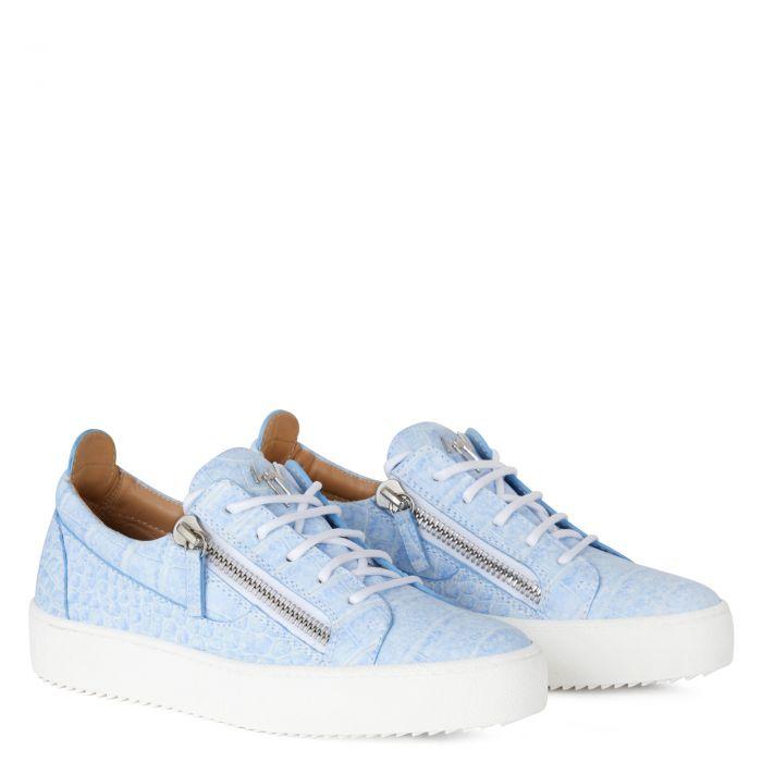 GAIL - Bleu - Sneakers basses