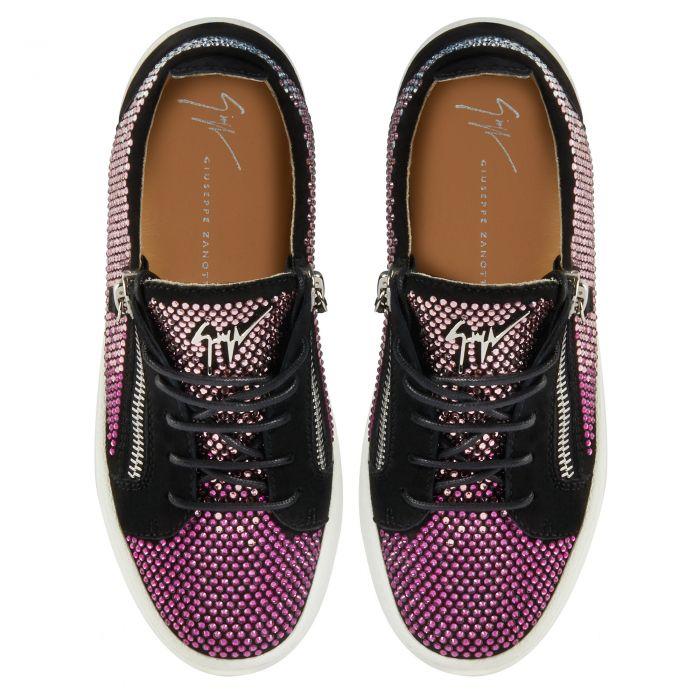 GAIL - Black - Low top sneakers