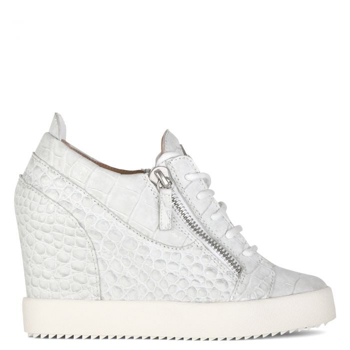 ADDY WEDGE - White - High top sneakers