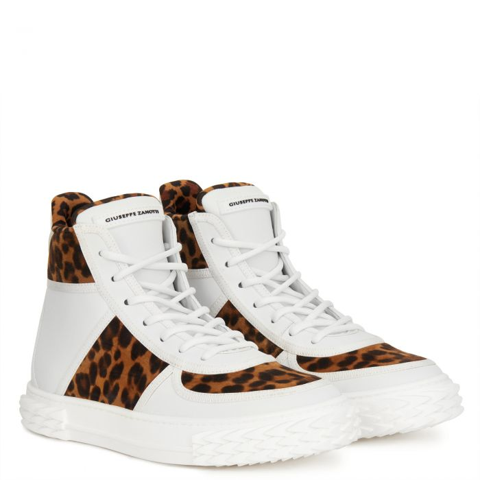 BLABBER - White - High top sneakers