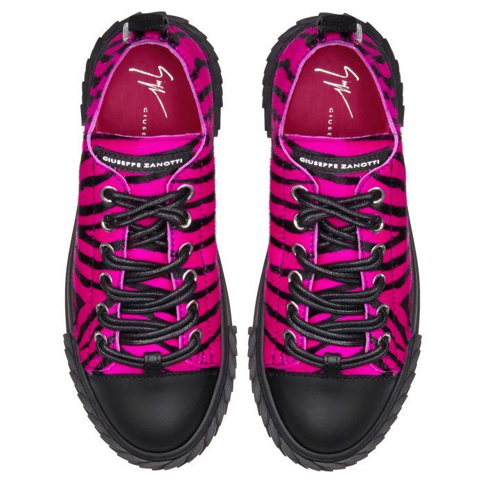 BLABBER - Fuxia - Sneakers basses