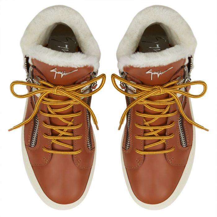 TREK - Marrone - Sneaker mid top