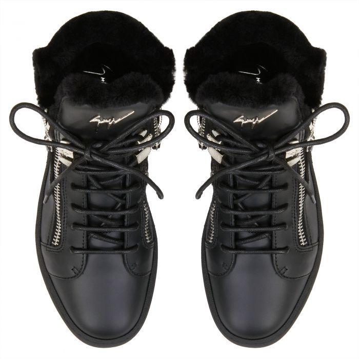 TREK - Noir - Sneakers montante