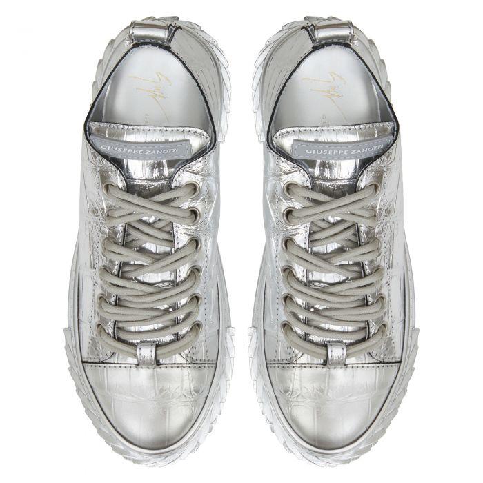 BLABBER - Silver - Low top sneakers